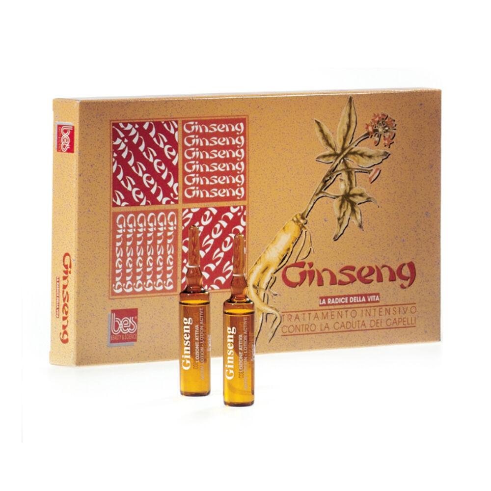 Ginseng hajszesz hajhullás megelőzésére és kezelésére