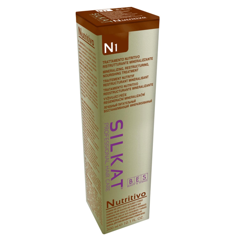 Silkat Nutritivo sampon száraz, töredezett hajra 300 ml