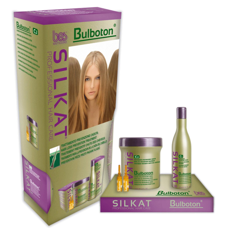 Silkat Bulboton hajhullást megelőző sampon 300 ml